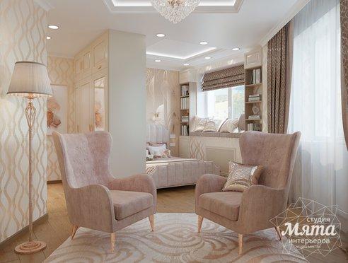 Дизайн интерьера однокомнатной квартиры ЖК Рощинский